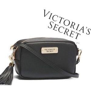 Victoria's Secret Black Crossbody Bag